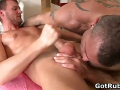 Smooth assed dude gets amazing gay part6