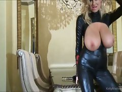 Big titted Kelly Madison Has Latex Lust