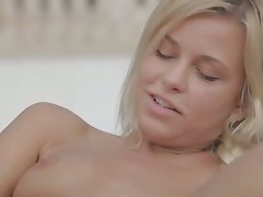 Vacation fantasy with lovely blond
