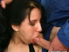 Some wild bitch delights prick and attractive piss part2
