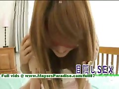 Erika Kurisu innocent slutty asian lass gets undressed