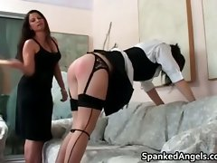 Randy schoolgirl with pig tails gets part1