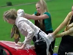 Sexual blond nympho gets attractive taking her part4