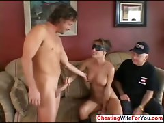 House dirty wife get special facial