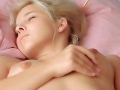 fluent panties and vagina masturbation