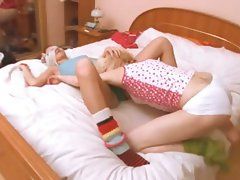 hungarian young lady getting kinky with cutie