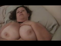 Submissive Dirty wife Plays With Nipples