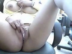 Watch awesome slit of my sex partner on web cam