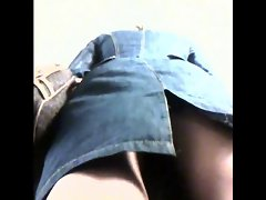 Luscious teasing upskirt hidden cam videos!