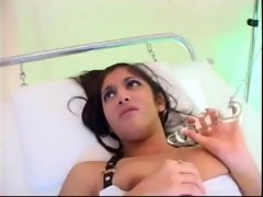 English vixen Leah Jaye gets banged by a rubbish doctor