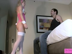 Filthy Sister Tease and Ballbusting Preview 2