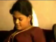 Sensual Buxom randy indian Aunty luxuriate with her Partner