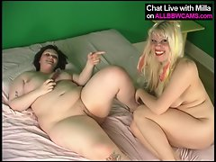 Butch Obese AND blond tart 2