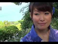 38yr aged Hitomi Ookubo loves Banging Outside (Uncensored)