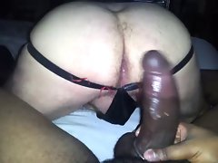 BBC Screws Daddy (bareback, interracial)