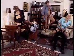 German Housewifes (younger Bea Dumas) get banged
