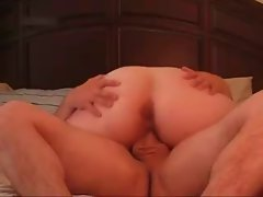 Sensual Obese Obese Girlfriend love riding my dick all the time
