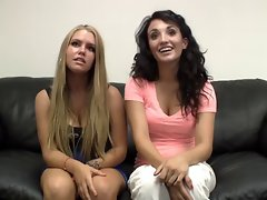 Amateur Casting Robyn and Tonya
