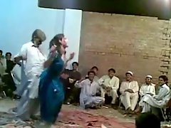Afghani experienced fellow funny sensual dance with lewd shemale Ghazala