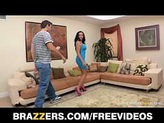 Brazzers - Raunchy cum thirsty better half Rio Lee cheats on her man
