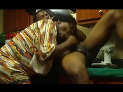 unbelievable slutty ebony stroking machine