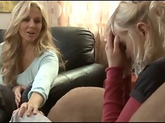 Attractive mom Seduces 18yo Girl....F70