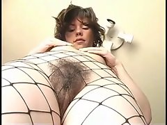 lass in tights masturbates - 005