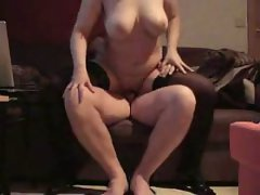 Homemade Buxom Housewive