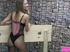 3 Months in Sensual Stella's Dungeon Point of view Femdom