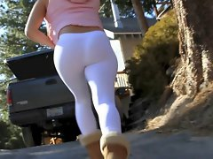 white leggings luscious naughty ass see thru tangas by bootyhunterr