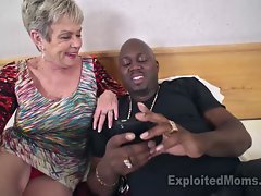 Chesty Granny in Creampie Video