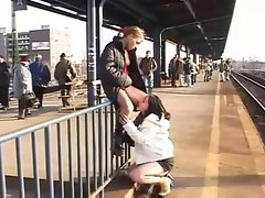 :- Nymphos CAUGHT ON CAMERA IN PUBLIC -: ukmike video