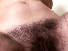 Extremely Very hairy Dark haired in Bathroom