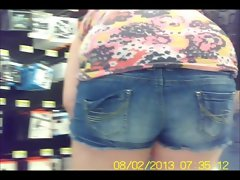 Thick Naughty butt in Public - NonNude - Creeper