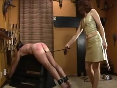 Spanking and footworship