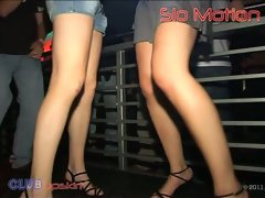 Natural Girlie Upskirt in the Club Video No.6 from Club Upskirt