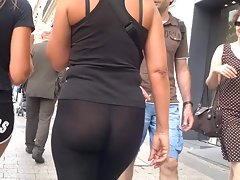 lewd backside in leggins reuploaded better quality
