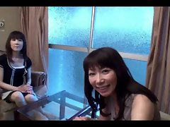50yr older Grannies Yoshiko Saito and Takako Ueno (Uncensored)