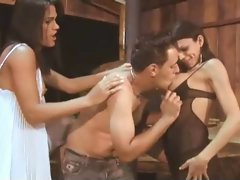 Brazilian Crazy threesome action 2
