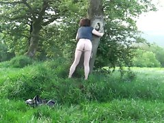Jenny Smith treehugging transvestite