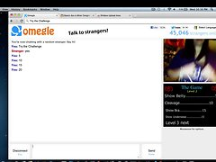 Wil freaky lassie on omegle
