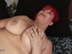 If you love enormous tits you will love this filthy mom
