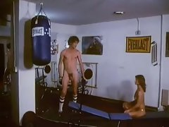 John Holmes And Marilyn Chambers In The Gym