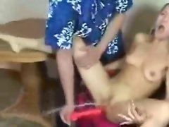 Epic Squirting from Blazing teen with her Toy