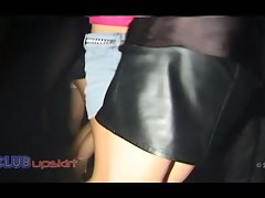 Natural Randy chicks Upskirt in the club video No16 dirty ass shaking