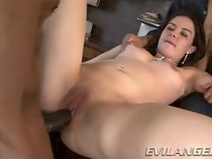 Sensual Nicole Rider gets her little twat pummelled