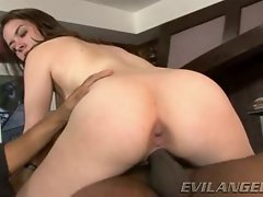 Nicole Rider rides her dripping snatch on this strong throbbing cock