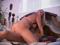Britney Madison gets her dripping cunt stuffed with shaft