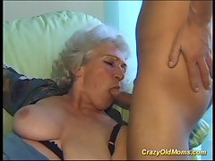 Wild older mum gets extremely big cock oral and in twat deep