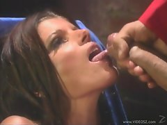 Cum craving Kristal Summers gets drenched in attractive cum